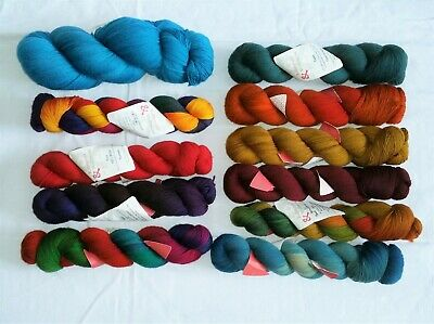 WOLLMEISE Luxury hand-dyed 4ply sock yarn 150g Pick & Mix