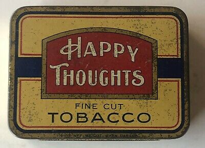 2oz Happy Thoughts Tobacco Tin Dudgeon & Arnell  Melbourne