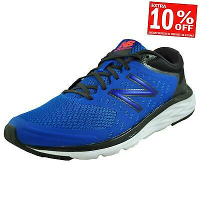 a893167288 New Balance 490v5 Men's Premium Running Shoes Gym Trainers Blue UK 9