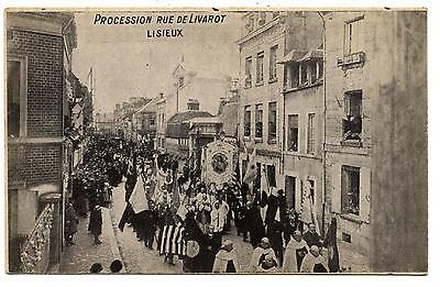 Lisieux.procession Street Livarot.edition Palace of the Rosaire.