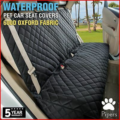 Pipers Pet Car Back Seat Cover Dog Cat Hammock Waterproof Protector Non Slip Mat