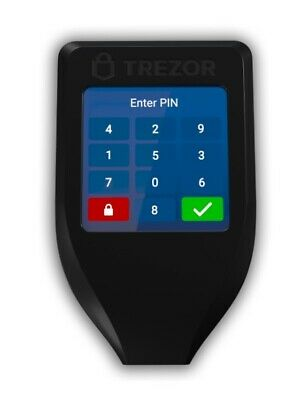 Trezor Model T Cryptocurrency Hardware Wallet ***New in Box*** No Reserve!!!