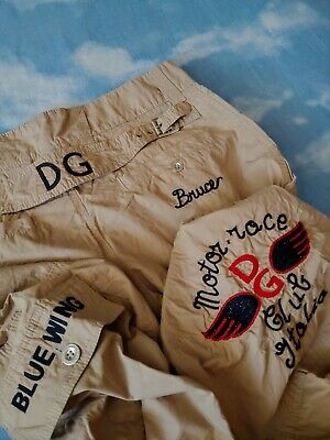TROUSERS man vintage '90s DOLCE & GABBANA made in Italy TG 46 circa M