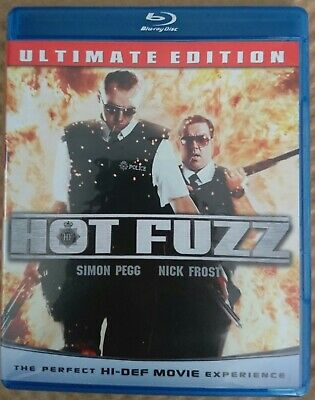 Hot Fuzz (Blu-ray Disc, 2009) Simon Pegg Nick Frost Best Action-Comedy Ever!!!!!