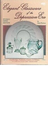 Elegant Glassware of the Depression Era : Identification and Value Guide by...