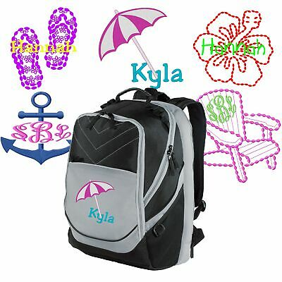 Personalized Flip-Flops/Beach/Hibiscus Flower/Anchor/Chair Xcape™ School Bag