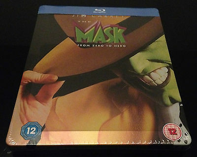 Steelbook Blu Ray The Mask Zavvi Limited To 2500 Ex. Neuf // New And Sealed