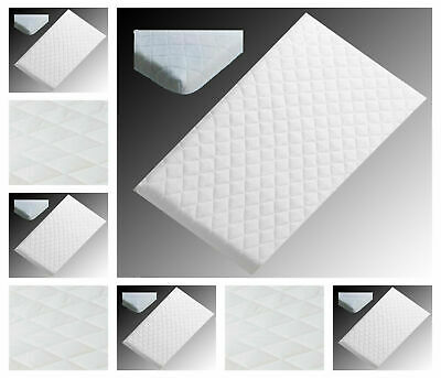 Super soft crib mattress ,90x40x5 Anti-Allergic Quilted Made in England
