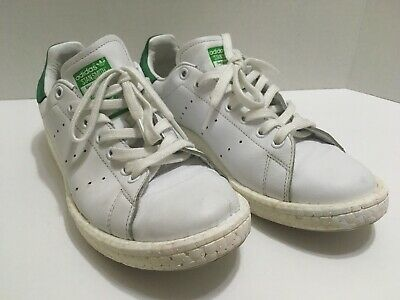 detailed look f8f32 ab6c0 ADIDAS STAN SMITH Boost White Shoes Men's Sz US 9.5