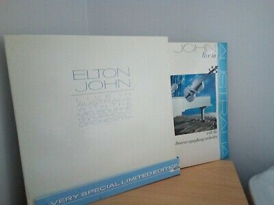 Elton John Live In Australia Limited Edition 2 LP Box Set