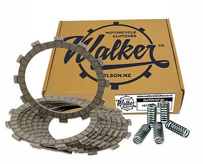 Walker Clutch Friction Plates & Springs Kawasaki Z400 A1 Deluxe D3/D4 77-78