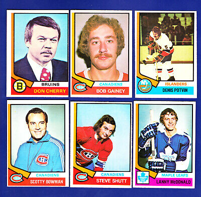 1974-75 OPC O-Pee-Chee Complete Set Break, Lot of 16 Key Rookies