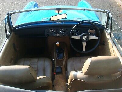 mg midget 55 tho from new never welded amazing condition folder full history