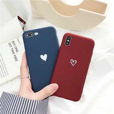 For iPhone XS XR Max 8 7 Plus Shockproof Thin Soft TPU Silicone Matte Case Cover