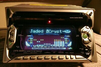 Kenwood GATHERS DPX-510H CD Cassette DSP 9 band EQ JDM clean working rare 1998