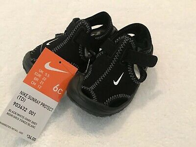 cfeb8b738 Brand New Nike Sunray Protect TD Sandal Little Boys Toddler Size 6C Water  Shoes