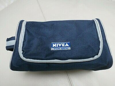 b7014c9f725c NIVEA MENS HANGING Travel Toiletry Bag Shaving Case Cosmetic Bag ...