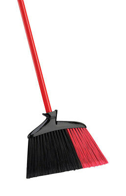 Libman  13-3/4 in. W Stiff  Recycled Plastic  Broom