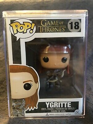 Funko Pop Ygritte Game of Thrones #18 Vaulted Retired Authentic