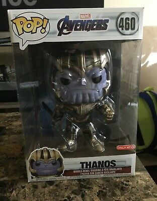 *RARE!!* Funko Pop Avengers End Game 460 HUGE! Thanos Target Exclusive 10in 10""