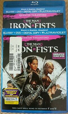 The Man With the Iron Fists (Blu-ray/DVD, 2013, 2-Disc Set Includes Digital Copy