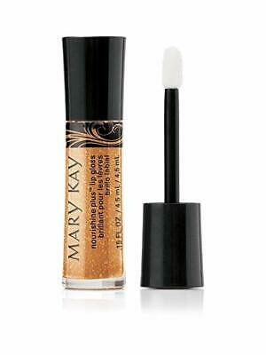 Mary Kay Lip Gloss Beach Bronze - NIB - FREE SHIPPING - plus sample
