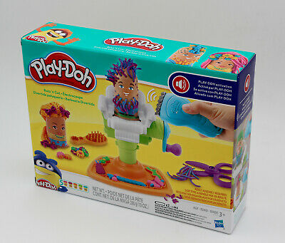 336aedb94f5 Play-Doh Buzz 'n Cut Fuzzy Pumper Barber Shop Toy with Electric Buzzer