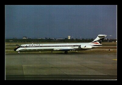 Dr Jim Stamps Us Delta Air Lines Airplane Transportation Continental Postcard