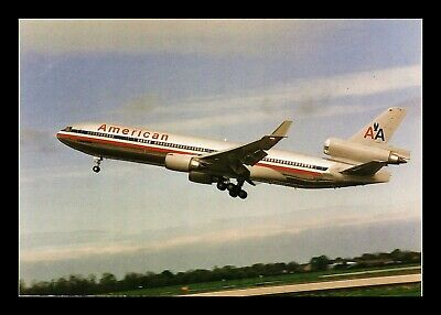 Dr Jim Stamps Us American Airlines Airplane Transportation Continental Postcard