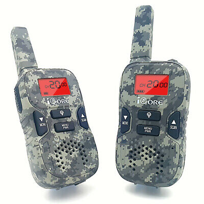 iCore Walkie Talkies for Kids Rechargeable, Toys Talkie Long Range 2 Way Radio