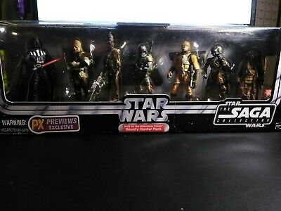 ~*STAR WARS*~ Hunt for the Millennium Falcon - Bounty Hunter pack - PX Exclusive