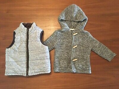 Country Road & Seed. Boys Winter Bundle Size 18 M - 2. Jumper And Vest.