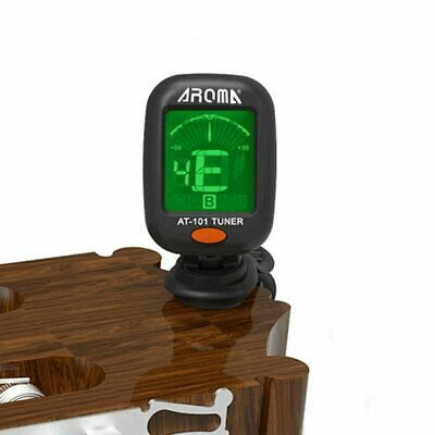 AT-101 AT-01A Digital Clip-on Electric Guitar Tuner Foldable Rotating Clip High