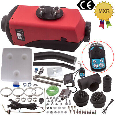 12v 2KW-5KW Adjustable Diesel Air Heater Silencer Digital for Caravan Motorhome