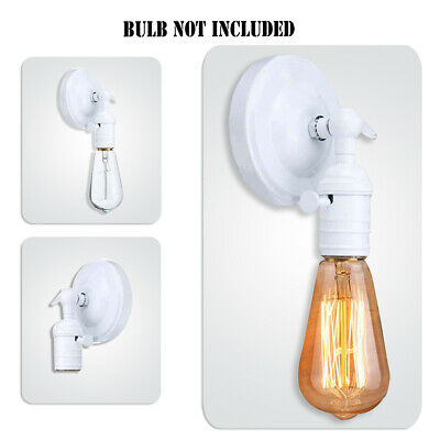 Vintage Industrial WALL LIGHT Lamp Holder Sconce Porch UP DOWN Retro Edison Loft