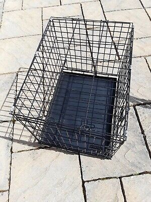Dog crate/ cage with tray 18 x21 x 24 inches