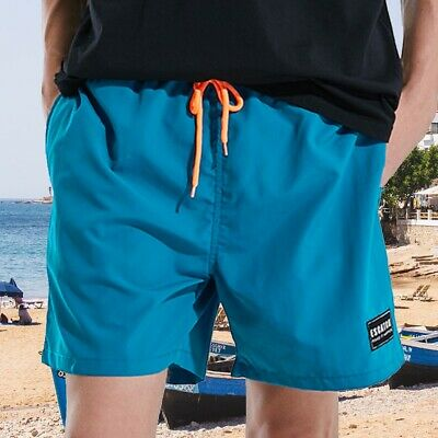 Summer Swimwear Men Boxer Brief Beach Swim Trunks Swimming Swimsuit Shorts Pants
