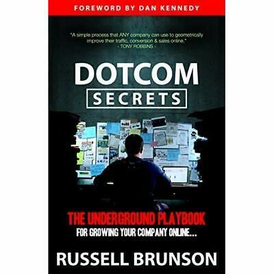 DotCom Secrets: By Russell Brunson (E-BOOK) / PDF 😁