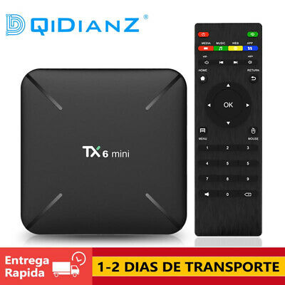 DQiDianZ Android 9.0 TX6 MINI 2GB 16GB TV BOX Quad Core AV TV CAJA Media Player