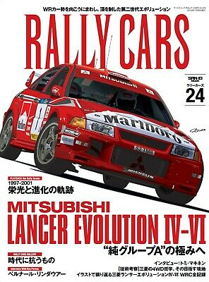 RALLY CARS Vol.24 / MITSUBISHI LANCER EVOLUTION / WRC / Japanese Car Magazine