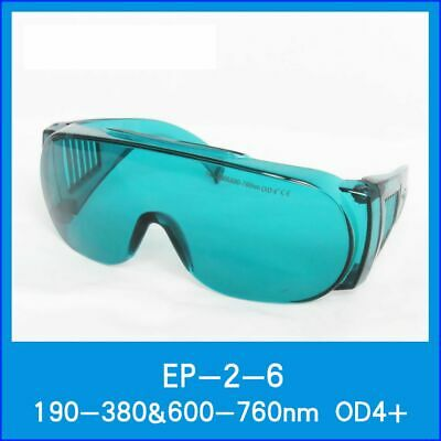 OD4 + 190nm-380nm & 600nm-760nm 635nm 650nm Red Laser Goggles Safety Goggles CE