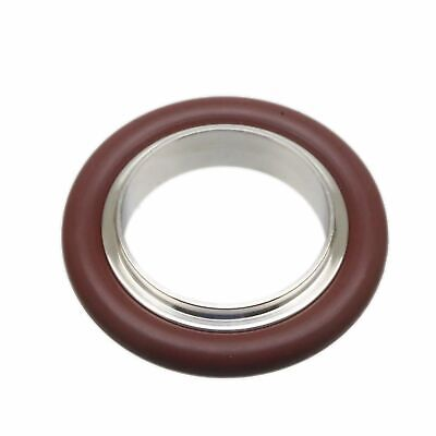 NW/KF-25 Vacuum flange Fitting Centering + Viton O-Ring SS304 (No Hinge Clamps)