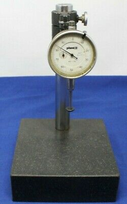 "Phase II Dial Indicator Granite Surface Plate 6x6x2 Height Gauge 8"" Black .001"