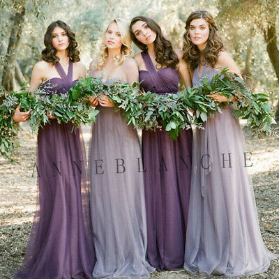 New Formal Evening Bridesmaid Dress Party Ball Prom Gown Dress Cocktail Size6-22