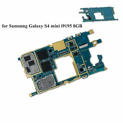 For Samsung Galaxy S4 mini i9195 8G Unlocked Motherboard Replaced Main Board