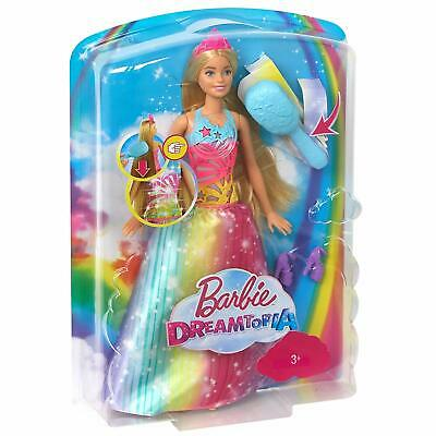 Barbie Dreamtopia Rainbow Cove Brush In Sparkle Princess Doll Girls Kids Toy NEW