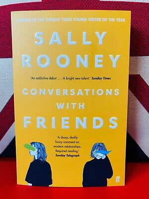 Conversations with Friends by Sally Rooney (Paperback 2018) New Book