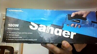 Powerbase 180W Detail Sander (Brand new, for sanding edges and into corners.