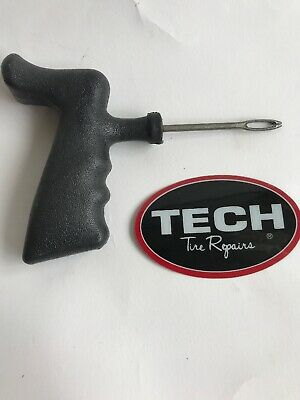 TECH PERMACURE insert tool - string tubless tyre puncture repair - AGRI Tractor