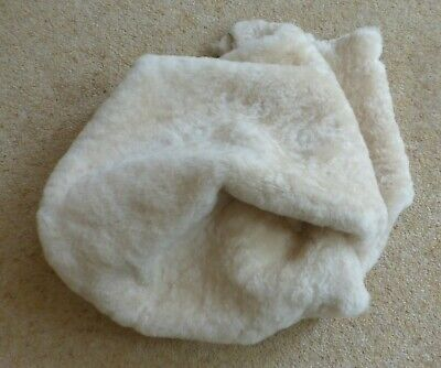 Icelandic Wool Lambskin Hide Approx. 6.5 sq. ft. Col. Champagne.